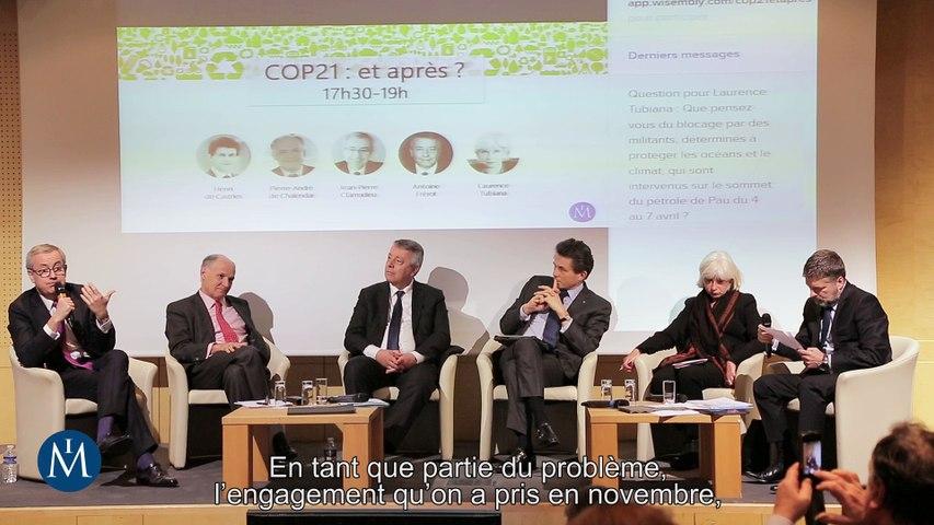 [Retour sur] COP21 : et après ? 11/04/2016