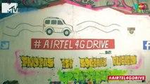#Airtel4GDrive – The Cuttack graffiti pitstop with Jose, Karan, Sana & Zerxes! Day 4 Part