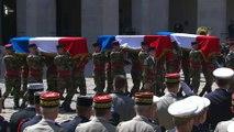 Hommage national aux trois soldats décédés dans le nord du Mali