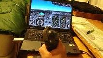 Flight Simulator 2002 Boeing 737 Short Field Landing at Meigs Field
