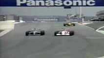 Formula 1 1993 South African Grand Prix - Alain Prost vs Ayrton Senna