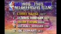 Dennis Rodman Defense on Michael Jordan 1989 ECF Game 3