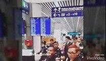 Lee Min Ho at KL International Airport heading back to Korea 25/03/16