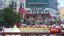 Hundreds of Palestinians commemorate Prisoners Day