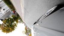 "22"" Zoll Breyton Spirit Tiefbett Felge während der Fahrt BMW E66 E65"