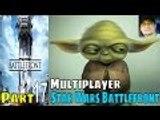 Star Wars Battlefront Part 17 Gameplay Walkthrough PS4 Multiplayer