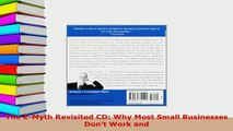 PDF  The EMyth Revisited CD Why Most Small Businesses Dont Work and Download Full Ebook