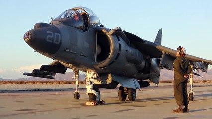 Harrier ii validating v/stol