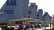US Jet Afterburner Vs European Jet Afterburner: Mirage 2000/ Eurofighter/ F/A 18A/ F 16 an