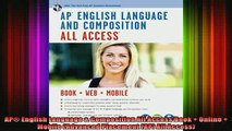 READ book  AP English Language  Composition All Access Book  Online  Mobile Advanced Placement Full EBook