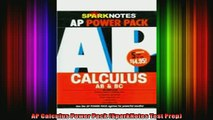 READ book  AP Calculus Power Pack SparkNotes Test Prep Full Ebook Online Free