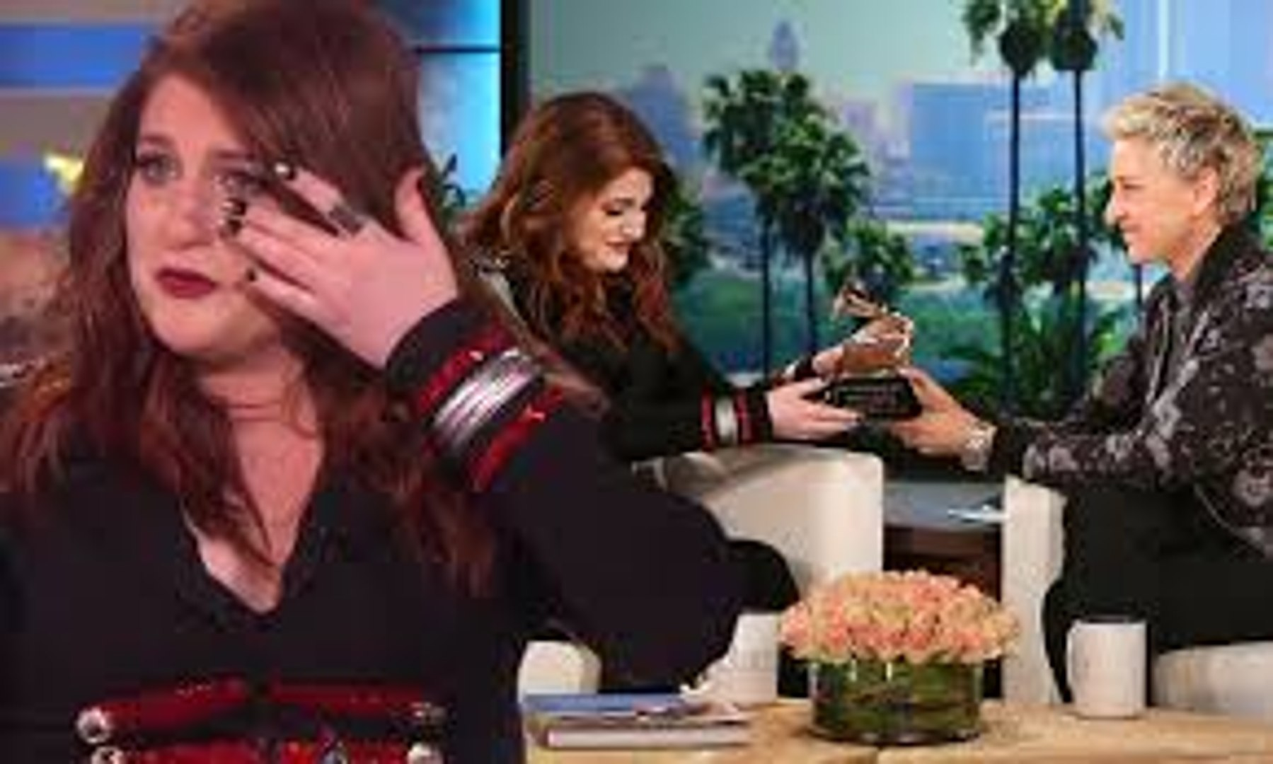 Meghan Trainor bursts into tears over her Grammy awards 2016