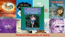 PDF  Physical Dimensions of Aging Download Full Ebook