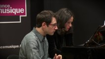 Ravel : Ma mère l'Oye: III.Laideronnette, impératrice des Pagodes par Audrey Vigoureux et Emmanuel Christien en piano à 4 mains |Le live de la Matinale