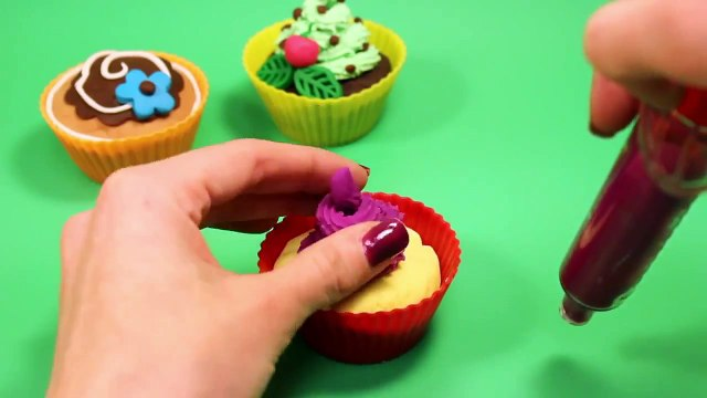 Play Doh Cupcakes Playdough Sweet Confections Cupcakes Muffins Ice Creams Part 7