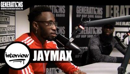 Jaymax - Interview (Live des studios de Generations)