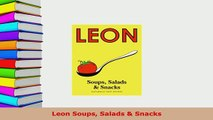 PDF  Leon Soups Salads  Snacks PDF Online