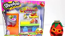 Shopkins GIANT Play Doh Egg. Shopkins Produce Stand - Fruits & Vegetables