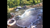Ask the Pool Guy's Time Lapse Pool Build Rocky Mountain Pool {Legendary Escapes}