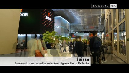 Baselworld: the new collections signed by Pierre DeRoche