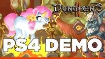 Dungeons II PS4 Sneak Peek - Darkest Dungeons and Warrior Penguins!