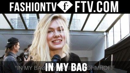 Model Talks F/W 16-17 In My Bag pt.7 | FTV.com