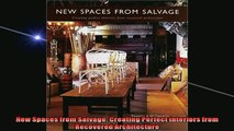 READ book  New Spaces from Salvage Creating Perfect Interiors from Recovered Architecture  FREE BOOOK ONLINE