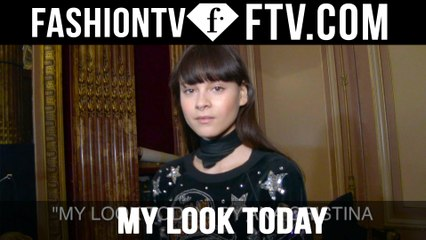 Model Talks F/W 16-17 My Look Today pt.5 | FTV.com