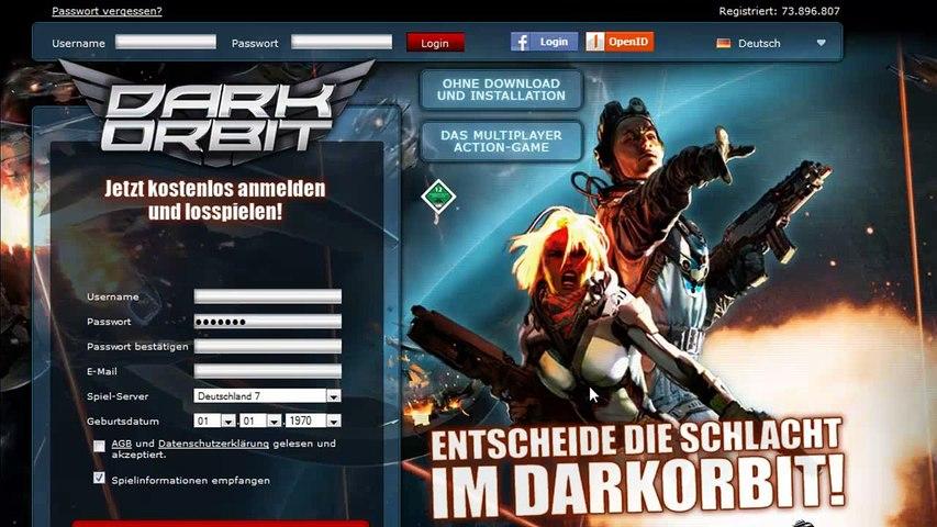Let's Play DarkOrbit#103 Prüfungs Info