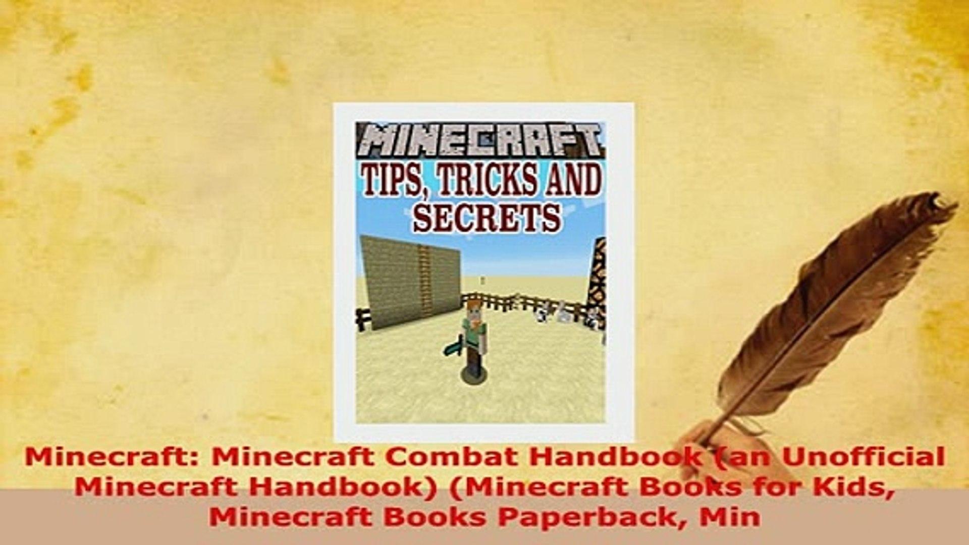 PDF Minecraft Minecraft Combat Handbook an Unofficial Minecraft Handbook  Minecraft Books Read Full Ebook