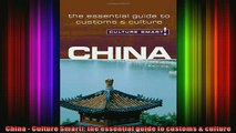 READ FREE Ebooks  China  Culture Smart the essential guide to customs  culture Online Free