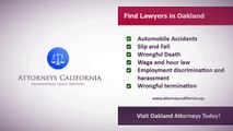 Find Lawyers in Oakland California   Attorneys California