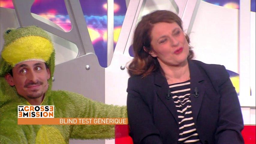 Blind test de Julien Lepers à Sonia Dubois