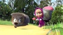 Маша и Медведь - Маша + каша (Маша закормила кашей всех)