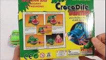 Crocodile dentist toy - Big croco mom with small baby croco