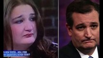 Ted Cruz Long Lost Sister Discovered at Maury Show - Ted Cruz Look Alike
