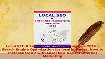 PDF  Local SEO  Internet Marketing Strategies 2016  Search Engine Optimization for local Read Full Ebook