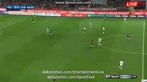 Carlos Bacca Incredible MISS Milan 0-0 Carpi