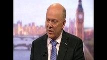 EU referendum- 'Cameron should remain if UK backs Brexit', says Grayling