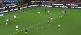 Penalty For AC Milan - Ac Milan 0-0 Carpi 21-04-2016