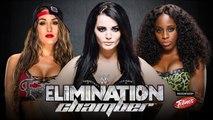 WWE Elimination Chamber 2015 - Nikki Bella VS Paige VS Naomi - WWE Divas Championship