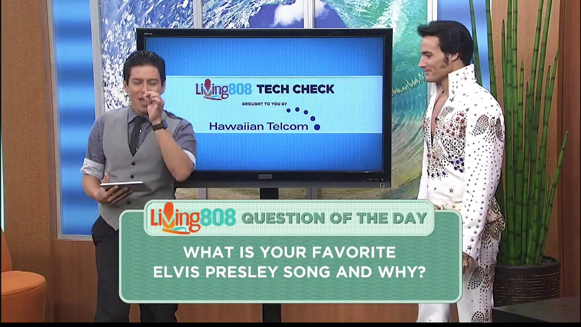 Living808 - What is your favorite Elvis Presley song and why?