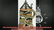 buy now  Beer Steins by King  Bavarian Castle Full Relief German Beer Stein Beer Mug 075l