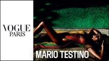 Mario Testino : La vidéo du shooting mode pour le numéro de mai 2016 | Vogue Paris
