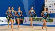 Slovenia Group AA Ribbon Rhythmic Gymnastics World Cup 2016 Pesaro