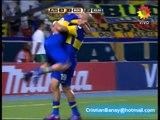Fluminense 0 Boca 2 Copa Libertadores 2012 Los goles (Relato Walter Saavedra)