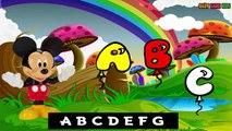Mickey Mouse ABC Song - Pre kindergarten school Songs | Nursery Rhymes Preschool Songs |