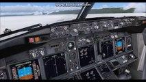 FSX / PMDG 737-800NGX Ryanair livery Take off from LIRP