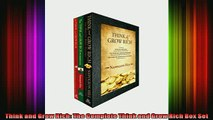 READ Ebooks FREE  Think and Grow Rich The Complete Think and Grow Rich Box Set Full Free