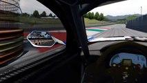 Réalité mixte sur un jeu de course auto